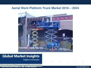 PPT-Aerial Work Platform (AWP) Truck Market: Global Market Insights, Inc.