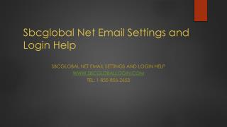 sbcglobal email settings