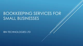 Who offer best bookkeeping services for small businesses