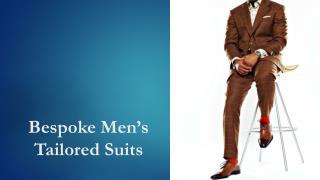 Premium men's tailored suits in Mumbai