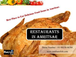 Restaurants in Amritsar - Makhans Fish