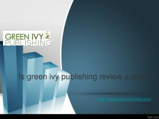 Is green ivy publishing
