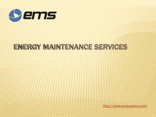 Energy Maintenance Services