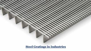 Steel Gratings in Industries, UAE