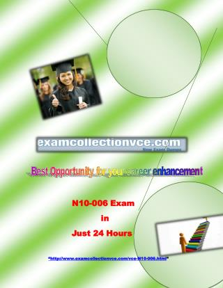 Examcollectionvce N10-006 Study material