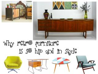 Why Retro Furniture Is So Hip and in Style