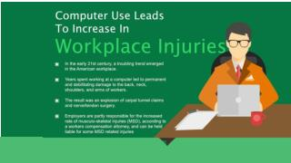 Computer Use Leads To Increase In Workplace Injuries