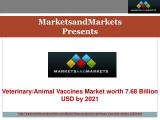 Veterinary/Animal Vaccines Market by Product, Diseases & Technology - 2021