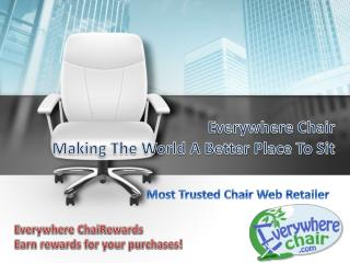 Everywhere Chair Making The World A Better Place To Sit