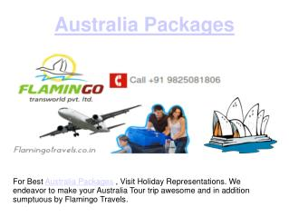 The wonderful land of Australia Packages is waiting for you