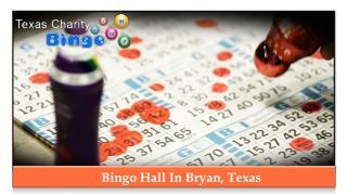 Bingo Hall In Bryan, Texas
