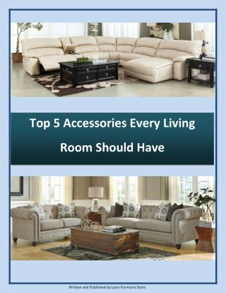 Top 5 Accessories Every Living Room Should Have