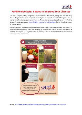 Best Infertility Treatments in Chandigarh