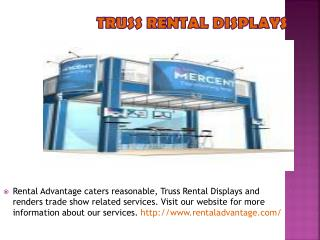 Custom Exhibit Rental