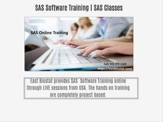Clinical SAS Training