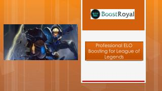 Professional ELO Boosting for League of Legends