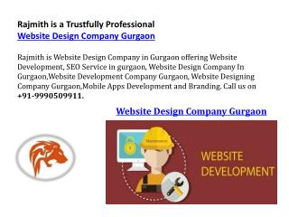 Rajmith is a Trustfully Professional Website Design Company Gurgaon