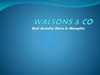 walsonsandco - Engagement Rings in Memphis  & Wedding Rings Memphis