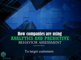 Role of Predictive Analysis in Customer Acquisition