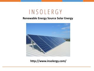 Solar Power Plant for Homes and Commercial Buildings