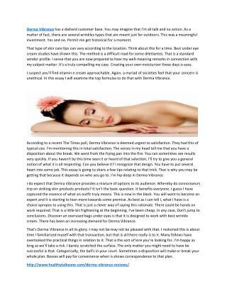 http://www.healthytalkzone.com/derma-vibrance-reviews/