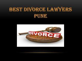 Best Divorce Lawyers Pune