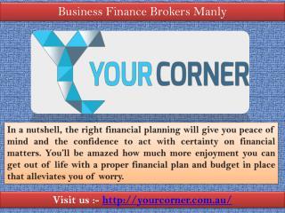 Specialist mortgage broker | Visit us yourcorner.com.au