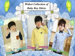 Stylish Toddler Boy Birthday Shirts Online in India