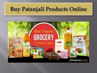 Buy Baba Ramdev Patanjali Products