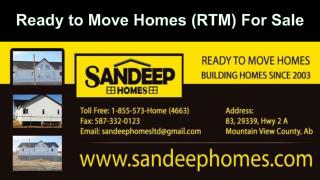 Ready to Move Homes for sale