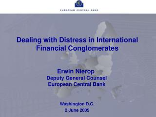 Dealing with Distress in International Financial Conglomerates