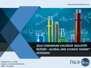 Chromium Chloride Industry, 2011-2021 Market Research