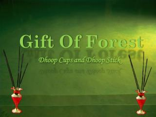 Buy Online Dhoop Cups and Dhoop Sticks