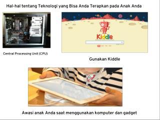 Hal-hal tentang Teknologi yang Bisa Anda Terapkan pada Anak Anda