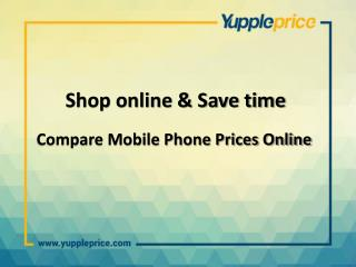 Mobile price comparison online