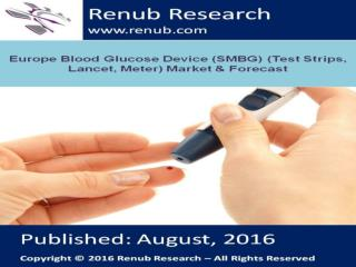 Europe Blood Glucose Device market