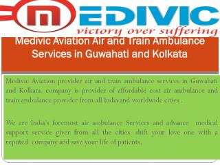 Book Low cost Air and train Ambulance Services in Kolkata