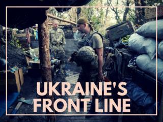 Ukraine's front line