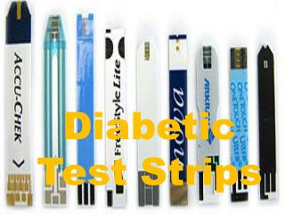 Different Diabetic Test Strips