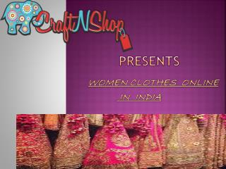 Women clothes online in india
