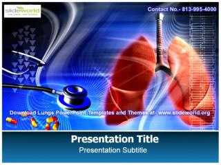 Download Lungs PowerPoint Templates with Editable