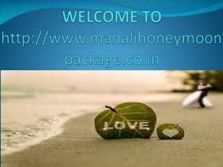 delhi to manali honeymoon package