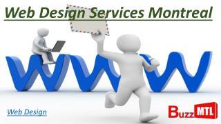 Web Design Services Montreal
