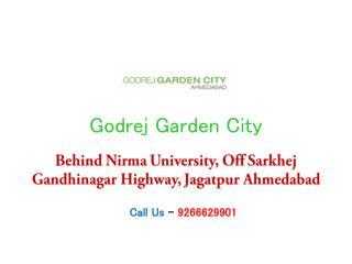 Godrej Garden City-Flats in SG Highway Ahmedabad