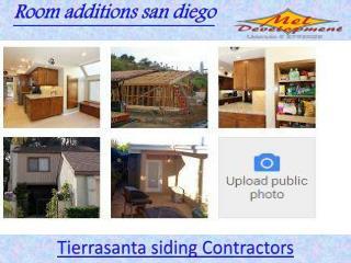 Tierrasanta siding Contractors