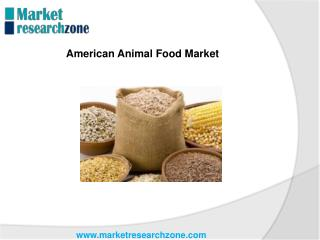 American Animal Food Market