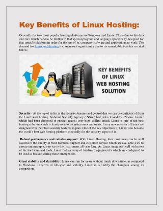 Linux Hosting World: A complete solution of hosting