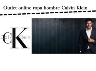 Outlet online ropa hombre-Calvin Klein