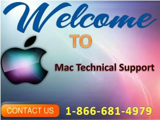 1-866-681-4979 Apple mac technical support number