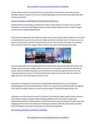 study abroad consultancies in hyderabad